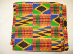 Kente Patterned Wax Print picture