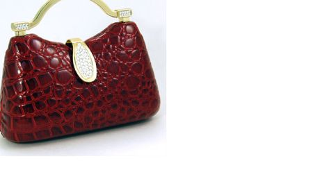 Red Snake print Purse   picture