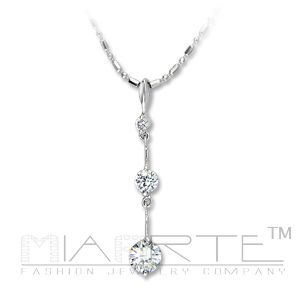 Sterling drop necklace  picture