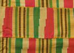 Yellow and Green Kente  picture
